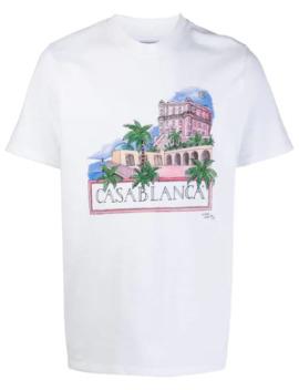 T Shirt à Logo Imprimé by Casablanca