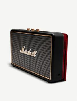 Stockwell Bluetooth Speaker With Cover by Marshall