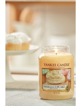 Yankee Candle Classic Large Vanilla Cupcake Candle by Next