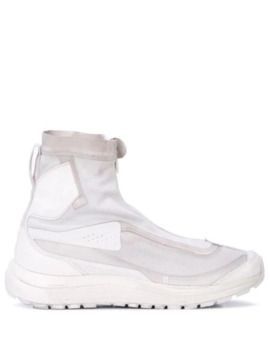 Panelled High Top Sneakers by 11 By Boris Bidjan Saberi