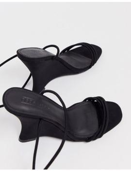 Asos Design   Nelly   Chaussures Compensées Minimalistes   Noir by Asos Design