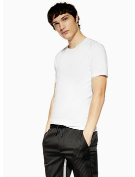 Selected Homme White 'perfect' T Shirt by Topman