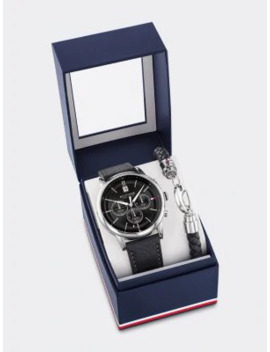 Kyle Watch Gift Set by Tommy Hilfiger