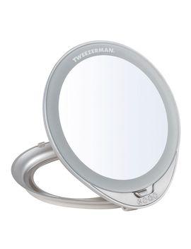 Adjustable Lighted Mirror by Tweezerman