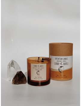 Sale! Sandalwood + Vanilla Intention Candle by Etsy