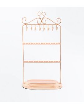 Rose Gold Jewellery Stand by New Look