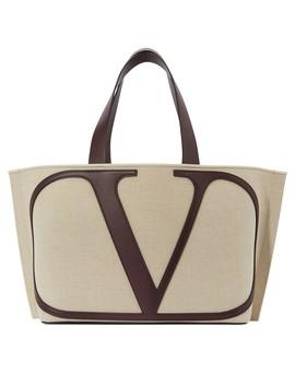Valentino Garavani Go Logo Shopping Bag by Valentino