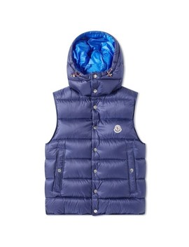 Moncler Billecart Hooded Down Gilet by Moncler