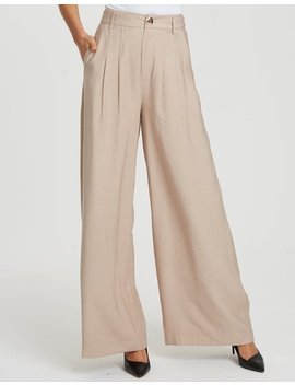 Sussex Wide Leg Pants by Willa
