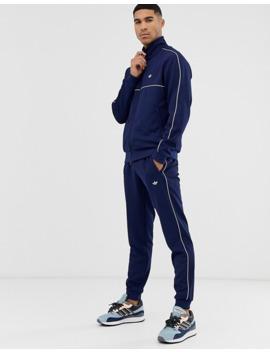 Adidas Originals   Samstag   Joggers De Qualité Supérieure   Bleu Marine by Adidas Originals
