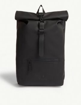 Rolltop Water Resistant Backpack by Rains