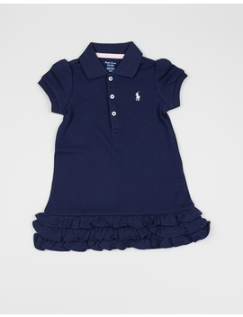 Stretch Mesh Polo Dress   Babies by Polo Ralph Lauren