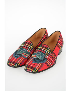 Tartan Loafer by Gucci
