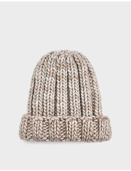 Fold Knit Hat In Polar by Clyde Clyde