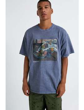 Uo National Gallery Blue T Shirt by Urban Outfitters