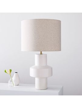 "Modern Totem Table Lamp (25"") by West Elm"