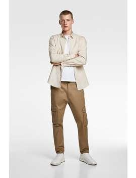 Camisa De Popelina Premium by Zara