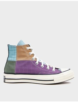Chuck 70 Hi Sneaker In Ripstop Mutli Patchwork by Converse Converse