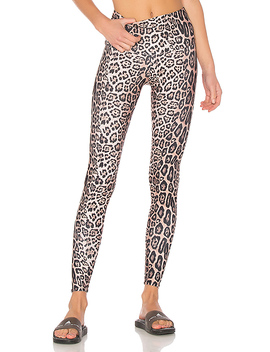 High Rise Legging In Leopard by Onzie
