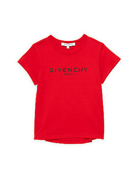 Girl's Logo Cotton Tee by Givenchy