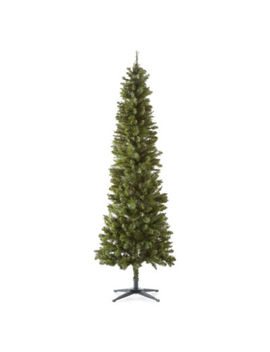 North Pole Trading Co. 7 Foot Clinton Fir Pre Lit Christmas Tree by North Pole Trading Co