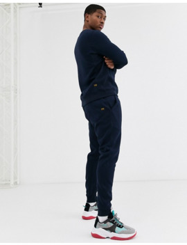 G Star Basic Sweatshirt In Navy by G Star