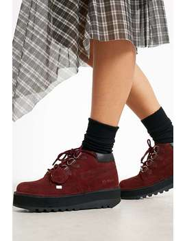 Kickers   Bottines Kick Hi Creepy Rouges by Kickers