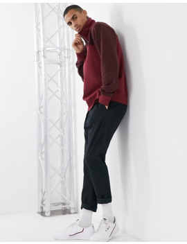 Weekday Markus Blocked Sweatshirt In Red by Weekday