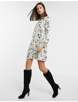 Asos Design Tall Horse Print Shirt Dress by Asos Design