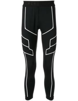 Panelled Stretch Fit Leggings by Blackbarrett