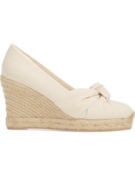 Knotted Wedge Pump by Soludos