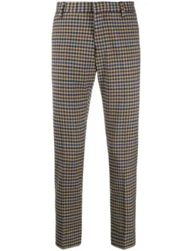 Houndstooth Tailored Trousers by Entre Amis
