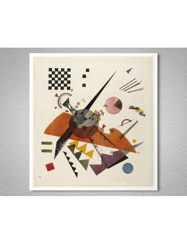 Orange, 1923 By Wassily Kandinsky   Poster Paper, Sticker Or Canvas Print / Gift Idea / Christmas Gift by Etsy