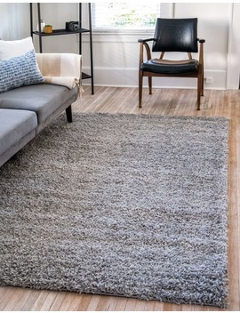 8' X 10' Solid Shag Rug by E Sale Rugs