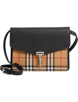 Small Macken Vintage Check Crossbody Bag by Burberry