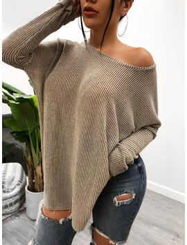 Gwen Knit Top by Laura's Boutique