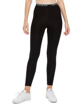 Branded Elastic Leggings by Topshop