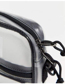 Vans Bail Shoulder Bag In Clear by Vans'