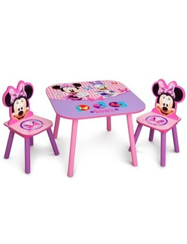 Delta Children Table And Chair   Minnie Mouse by Disney