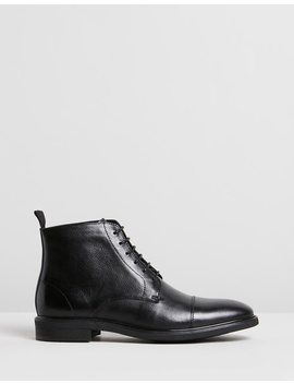 Hoy Leather Boots by Double Oak Mills