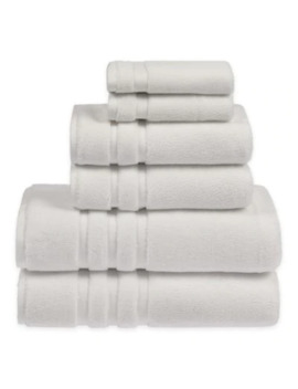 Sadem Ultra Collection 6 Piece Towel Set In Brown by Bed Bath And Beyond