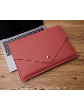 "Genuine Leather Macbook Sleeve Case For New Macbook 12 "" / Macbook Air 11 "" 13 "" / Macbook Pro Retina Cover Bag by Etsy"