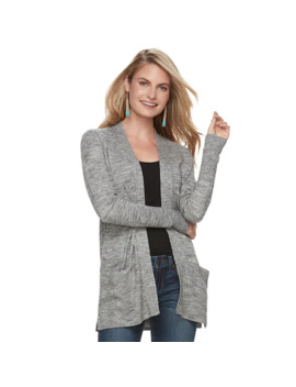 Women's Sonoma Goods For Life™ Ribbed Cardigan by Sonoma Goods For Life