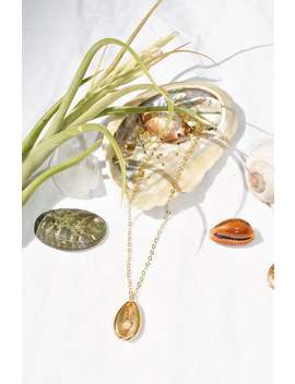 Mila Mussel Necklace   Silver/Gold   Wanderlust by Etsy