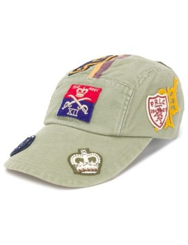 Appliqué Detail Baseball Cap by Polo Ralph Lauren