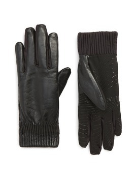 Leather Touchscreen Compatible Gloves by U|R