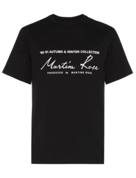 T Shirt Con Stampa by Martine Rose