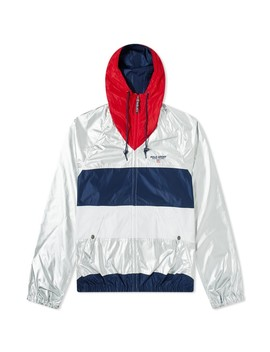 Polo Ralph Lauren Polo Sport Silver Back Logo Windbreaker by Polo Sport
