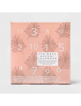Spa Advent Calendar Bath Set   12pc   Target Beauty™ by Target Beauty