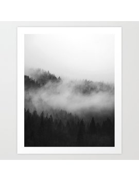 Foggy Forest Art Print by Society6